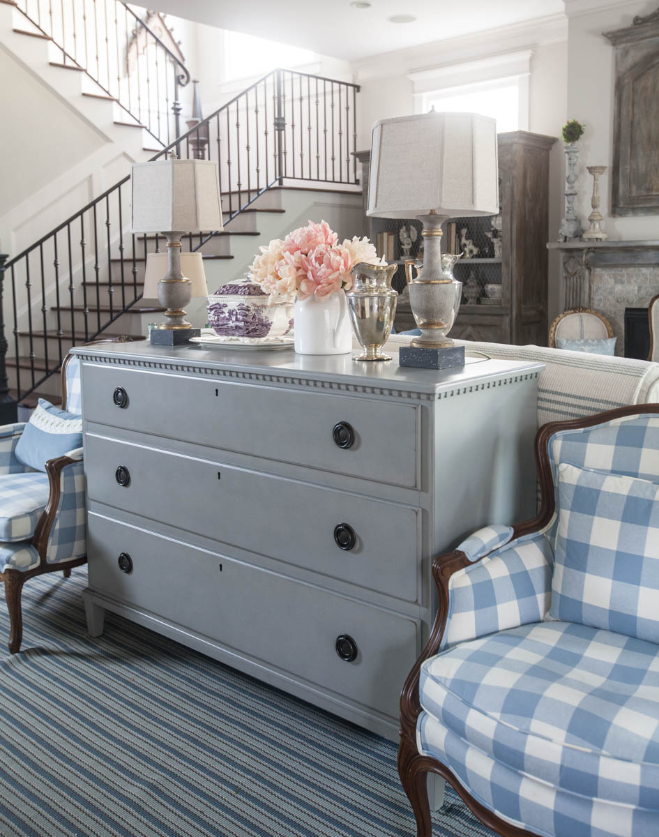 Using A Dresser As A Sofa Table Cedar Hill Farmhouse
