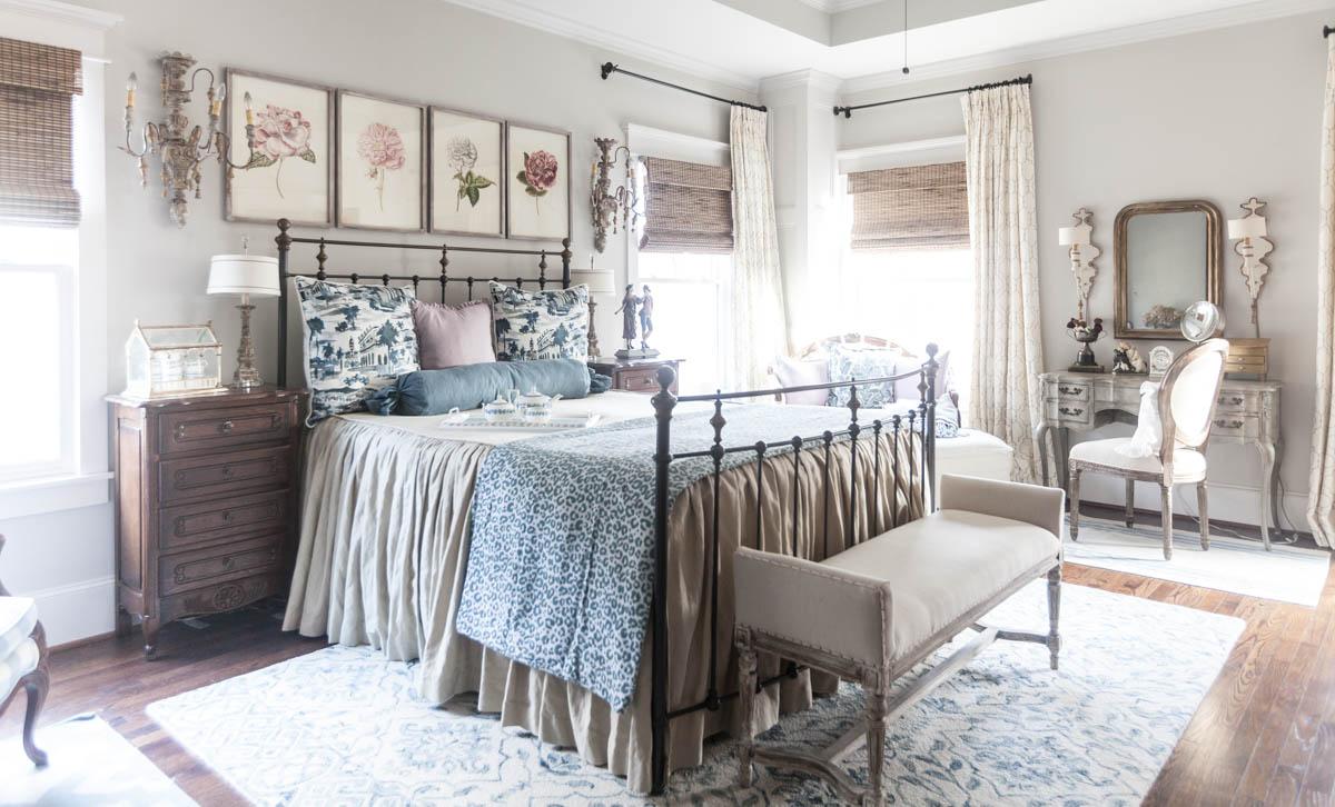 Updates To The Blue Bedroom Cedar Hill Farmhouse
